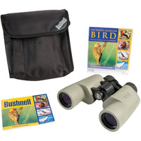 Bushnell 118042C Bird Watching Binoculars  8 x 40mm Porro +CD & Field Log