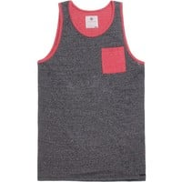 On The Byas Twizzle Color Block Tank Top - Mens Tee - Bl