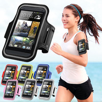Workout Arm Band Sport Phone Case For iPhone 6 6s Samsung S6 S7 Huawei P8 HTC M8 4.5~5.2 inch Casual Running Horse Riding Cover