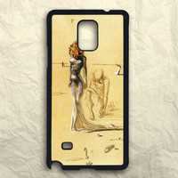 Woman With Flower Head Salvador Dali Samsung Galaxy Note 3 Case