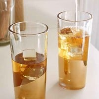 Gold-Dipped Highball Glass