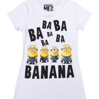 Despicable Me 2 Minion Girls T-Shirt Size : X-Large