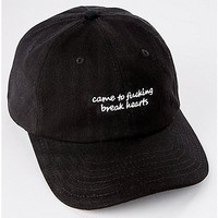 Came to Fucking Break Hearts Dad Hat - Spencer's