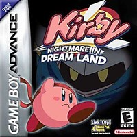 Kirby Nightmare in Dreamland Nintendo Game Boy Advance