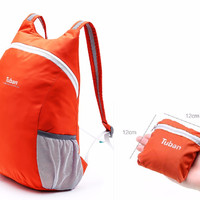 VILEAD Foldable Ultralight Outdoor Bag Waterproof Portable Men Women Sports Backpack for Travel Cycling Mountaineering Camping