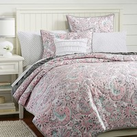 Perfectly Paisley Quilt + Sham