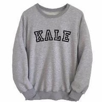 Kale Fleece Crew Neck Sweatshirt