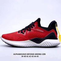 ADIDAS Alphabounce mesh breathable sneakers