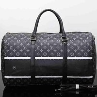 Perfect Louis Vuitton Travel Bag Leather Tote Handbag Shoulder Bag