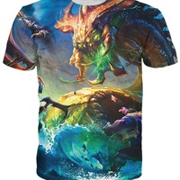 League of Legends Champions vs. Baron T-Shirt