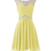 Dresstells® Short Prom Dresses Sexy Homecoming Dress for Juniors Birthday Dress Mint Size 4