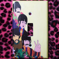 Beatles Light Switch Cover - Switchplate - Switch Plate Yellow Submarine