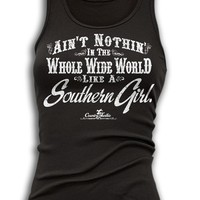 Country Junkie Women's Ain't Nothin' Like a Southern Girl Tank Top