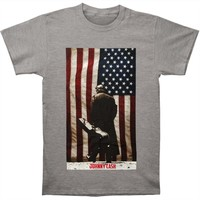 Johnny Cash Men's  Legend Of Cash Americana T-shirt Heather