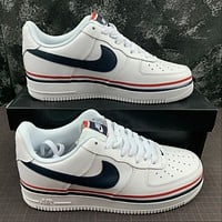 Morechoice Tuhz Nike Air Force 1 Low Usa Sneakers Casual Skaet Shoes Cj1377-100