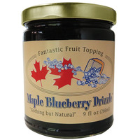 Side Hill Farm Vermont Made Delicious Maple Blueberry Drizzle Fruit Topping 9 oz