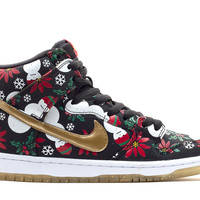 "Nike Dunk High SB ""Ugly Christmas Sweater"""