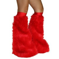 Red Soft Fur Fluffies