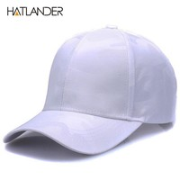 Sports Hat Cap trendy  [HATLANDER]Lightweight Breathable solid baseball caps outdoor s polo gorras curved Airy mesh sun hat for men women KO_16_1