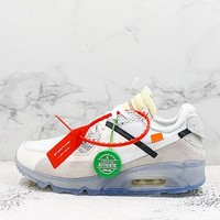 Off-white X Nike Air Max 90 Sneakers - Best Deal Online