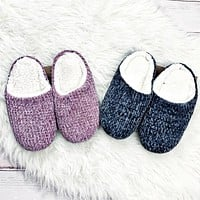 Cozy Chenille Slippers