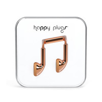 Happy Plugs Earbuds Rose Gold One Size For Men 25173338101