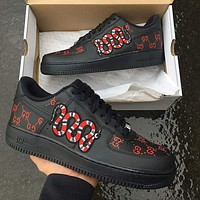 Nike Air Force 1 Electro-embroidered Air Force No.1 sneakers