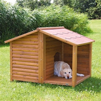 "Rustic Dog House (L) 51"" x 41"" x 39"""