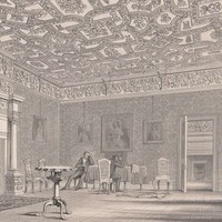 Antique Print Winton House - The Drawing Room (A56) by Grandpa's Market