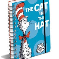 NEW Dr. Seuss The Cat in the Hat Spiral Notebook
