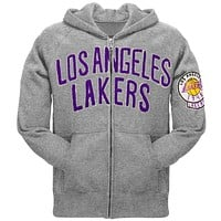 Los Angeles Lakers - 1948 Vintage Logo Zip Hoodie