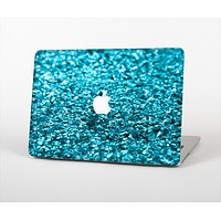 """The Turquoise Glimmer Skin Set for the Apple MacBook Pro 15"""" with Retina Display"""