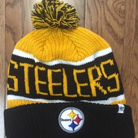47 Brand Pittsburgh Steelers Calgary Knit Hat