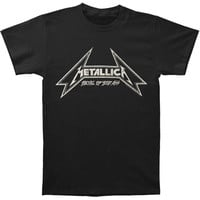 Metallica Men's  Metal Up Your Ass T-shirt Black