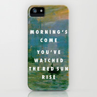 Obvious Impression iPhone & iPod Case by Modern Vampires of Art History