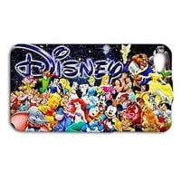Fun Disney Cute Characters Custom Phone Case iPhone iPod Aladdin Cinderella Cool