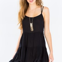 Charlotte Gauze Babydoll Dress