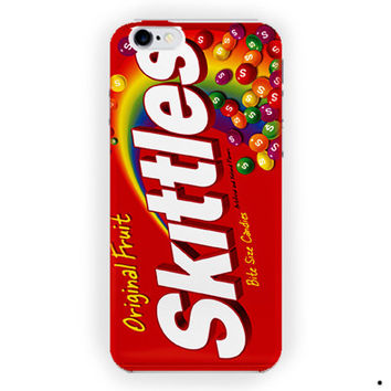 Skittles Candy Custom Cover Design For iPhone 6 / 6 Plus Case
