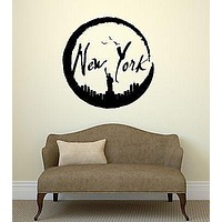 Wall Stickers New York City USA Art Room Vinyl Decal Unique Gift (ig2073)