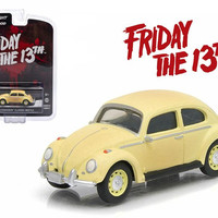 """1963 Volkswagen Beetle """"Friday The 13th Part III"""" (1982) Movie Hollywood Series 9 1-64 Diecast Model Car by Greenlight"""