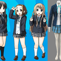 Manga Uniform Cosplay Costume Uniform from K-On!