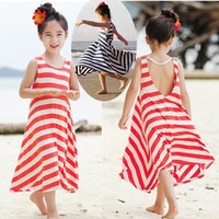 Fashion Girls Dresses Bohemian Baby Girls Kids cotton beach Dress children clothing summer autumn = 1928836868