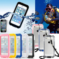 Waterproof Underwater Shockproof Durable Full Sealed iPhone 6S 6 Plus 5S 5 SE Protective Case