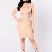 Star Struck Dress - Gold