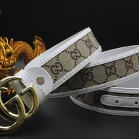 Gucci Belt Men Women Fashion Belts 504127