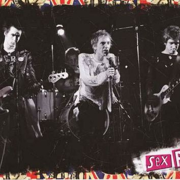 Sex Pistols Band On Stage Poster 24x36