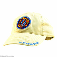 Grateful Dead -Steal Your Face Sun Cap on Sale for $19.99 at HippieShop.com