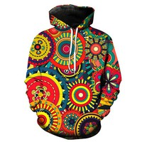 The Wheels of Life - Trippy Hoodie
