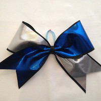 Two Colored Cheer Bow