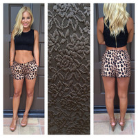 Lace Is More Zipped Crop Top - BLACK